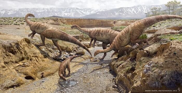 Historia del Plateosaurus