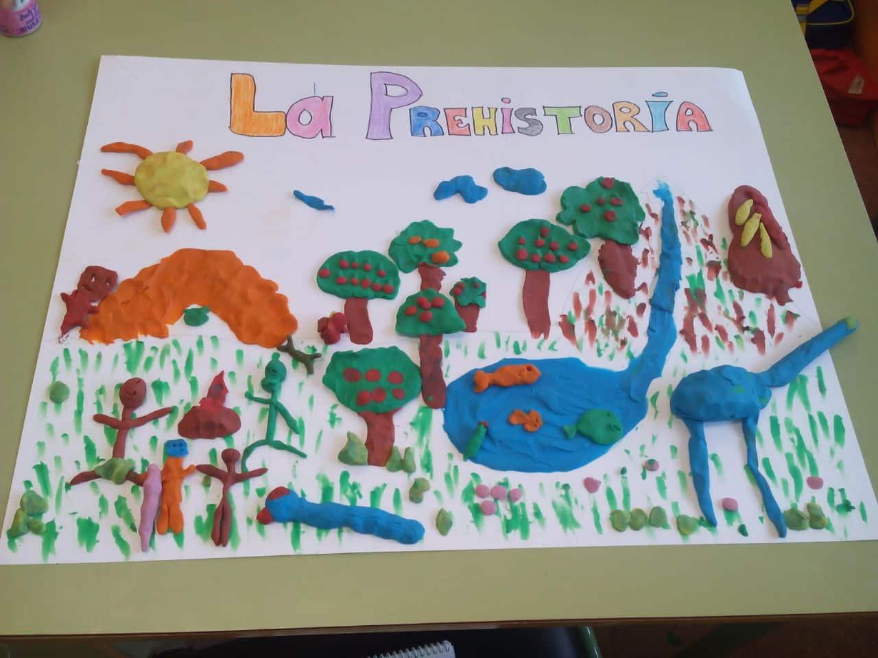 Dibujos De Prehistoria Para Ninos Para Colorear: PREHISTORIA Para NIÑOS (contada Paso A Paso