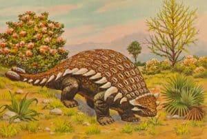 ¿Qué comía el Ankylosaurus?