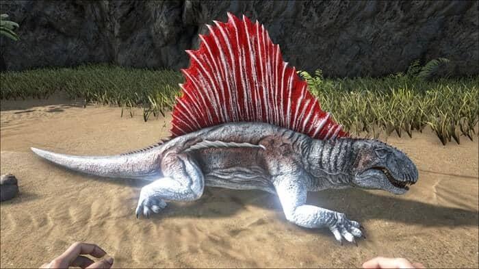Especies de Dimetrodon
