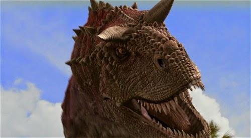 Apariencia del Carnotaurus
