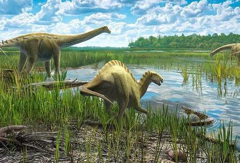 dinosaurios herviboros del cretacico