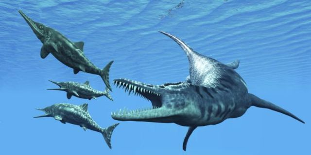 dinosaurio Ictiosaurios